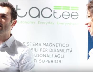 Tactee si racconta a MR, giornale italiano di Medicina Riabilitativa